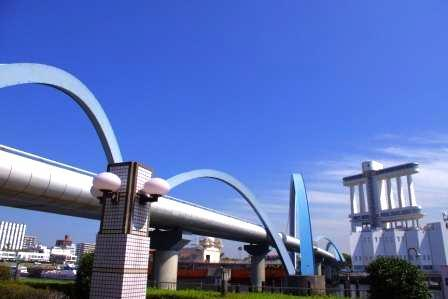 名古屋水族館から名古屋港博物館.JPG